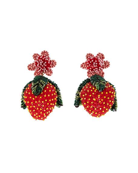 Mignonne Gavigan Lux Strawberry Earrings