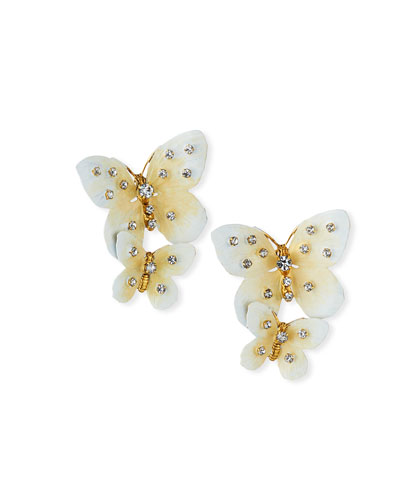 Lisabetta Butterfly-Dangle Earrings