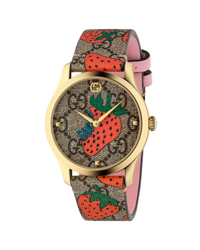 38mm G-Timeless Strawberry Watch