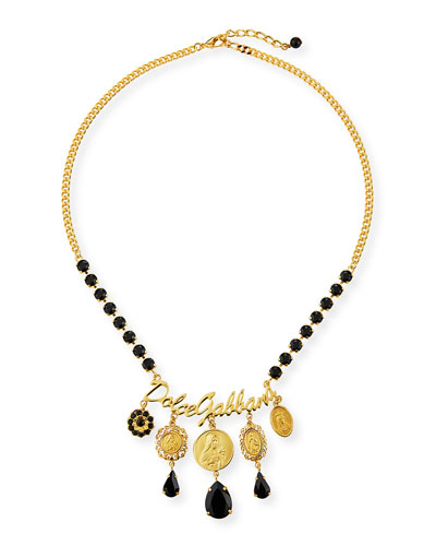Crazy for Sicily Charm Necklace