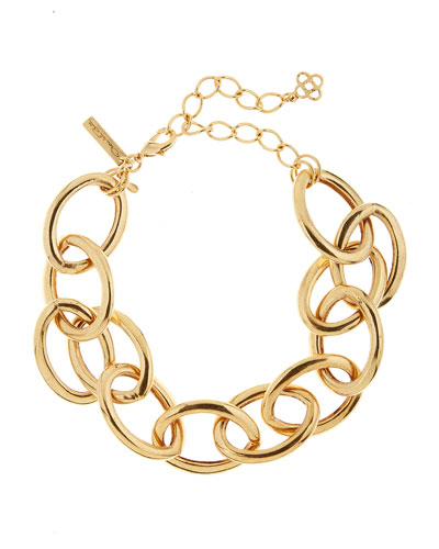 Oversized Chain-Link Necklace