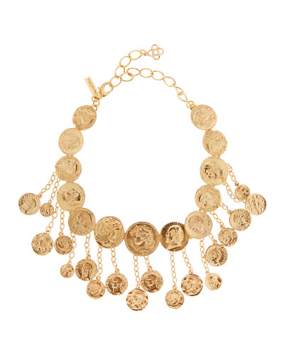 Coin Shaker Necklace