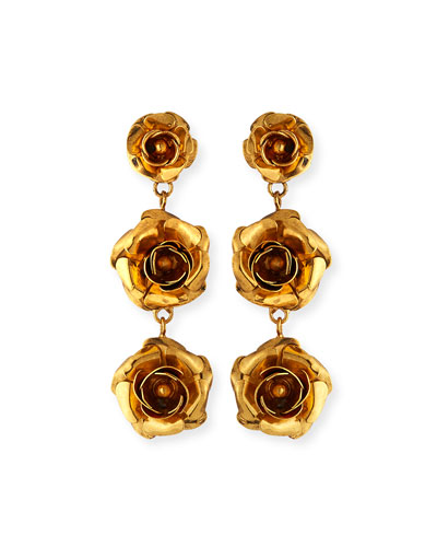 Abigail Rose-Drop Earrings