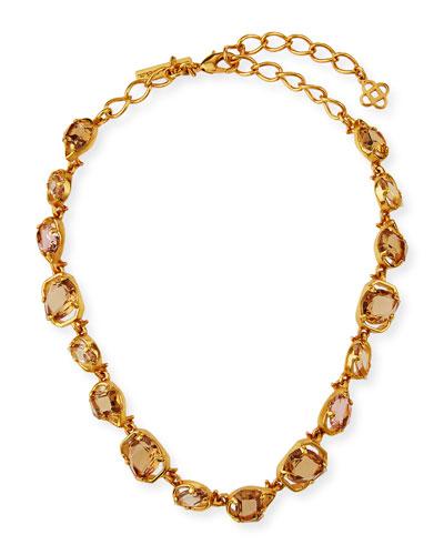 Crystal Short Necklace