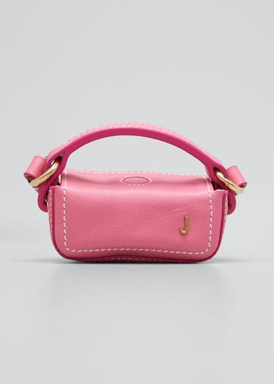 Le Nani Mini Charm Crossbody Bag, Pink