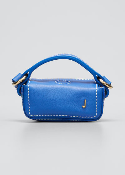 Le Nani Mini Charm Crossbody Bag, Blue