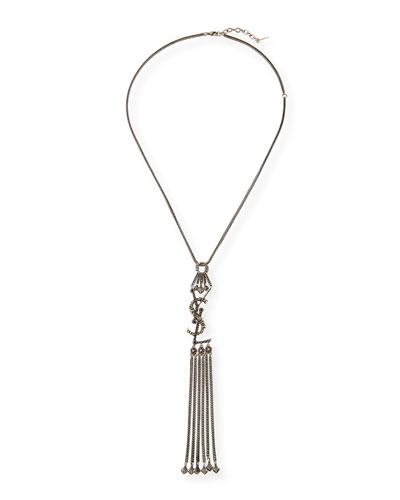 YSL Tassel Pendant Necklace