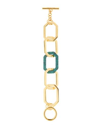 Octagonal Link Bracelet