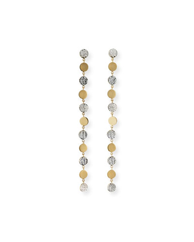 Benita Linear Two-Tone Earrings