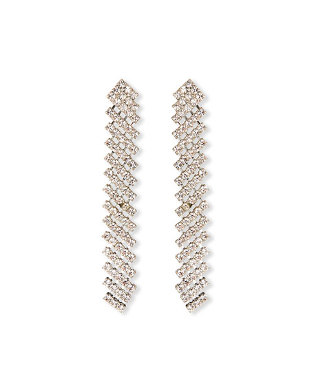 Image 1 of 1: Pixie Crystal Drop Earrings