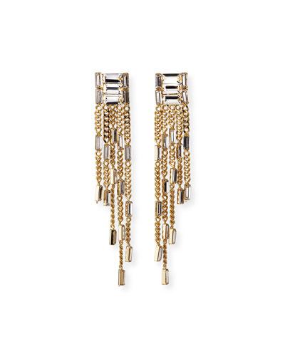 Osiride Dangle Fringe Earrings