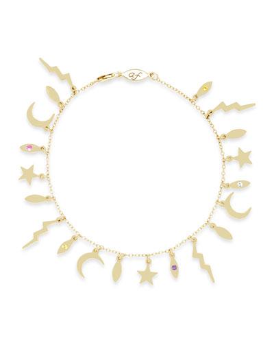 14k Multi-Element Bracelet