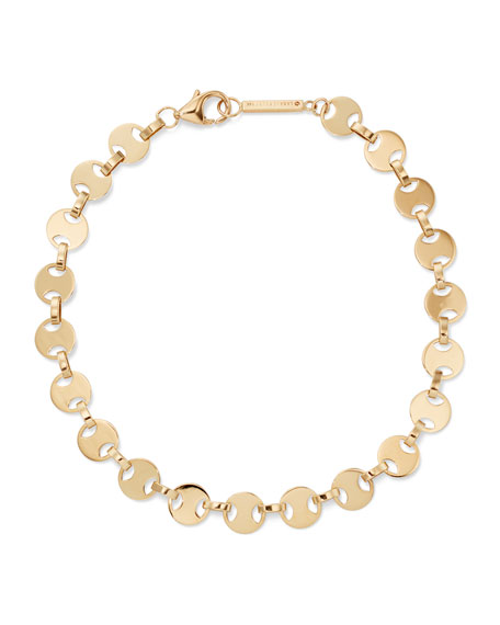 14k Small Flatman Bracelet