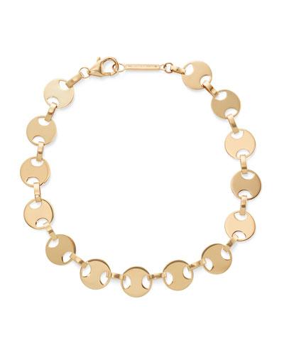 14k Medium Flatman Bracelet