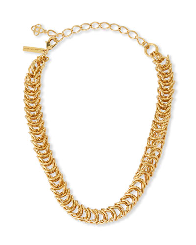 Tubular Braid Chain Necklace