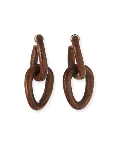Wood-Link Earrings