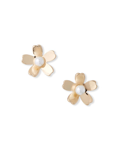 Garden Flower Stud Earrings