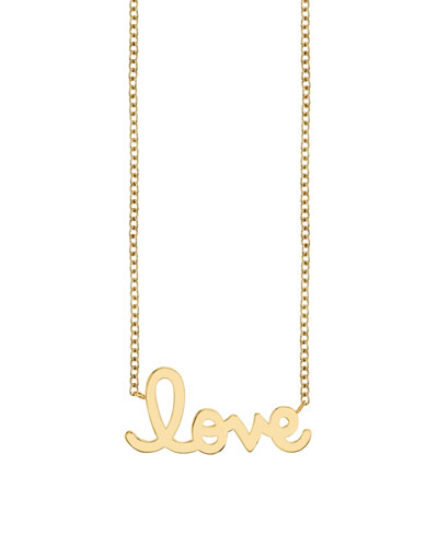Pure Love 14k Yellow Gold Necklace