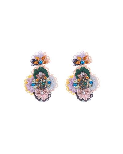 Mila Flower Drop Earrings
