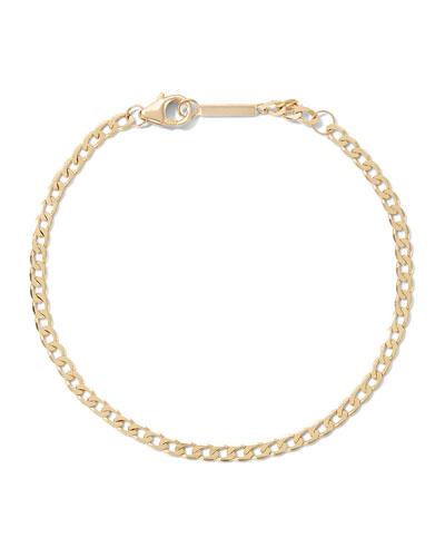14k Nude Casino Chain Bracelet