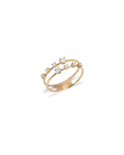 2-Band Solo Crown Ring