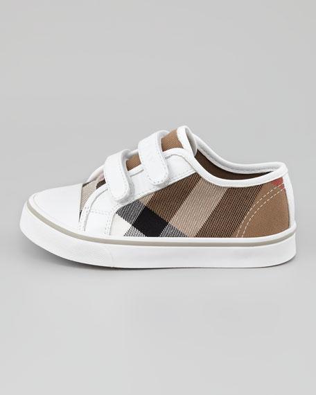 Check Double-Strap Sneaker, Toddler