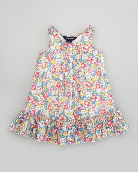 Floral Babydoll Dress, Sizes 2T-6X