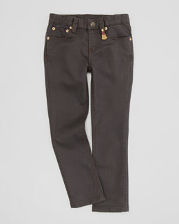 Ralph Lauren Childrenswear Bowery Skinny Jeans, Caldwell Wash, Sizes 2-3
