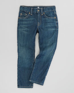 7 For All Mankind Slimmy Arroyo Bay Jeans, Sizes 4-7