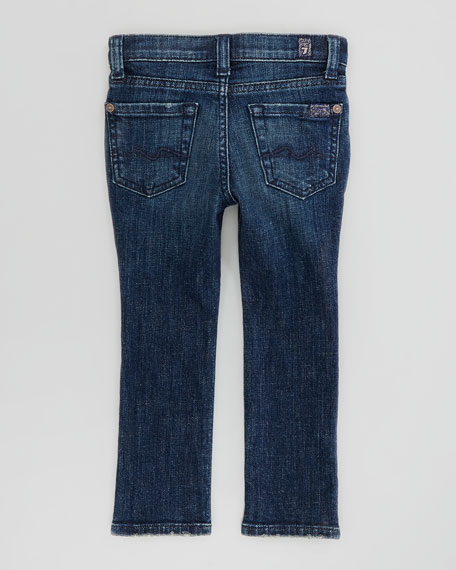Spring Night Straight-Leg Jeans, Sizes 4-6X