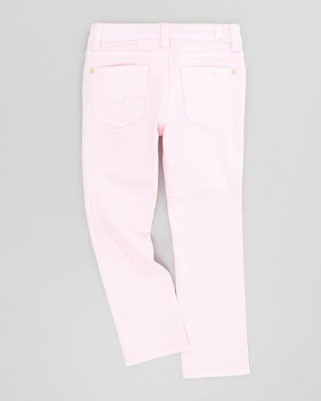 Roxanne Blush Pink Jeans, Sizes 8-10