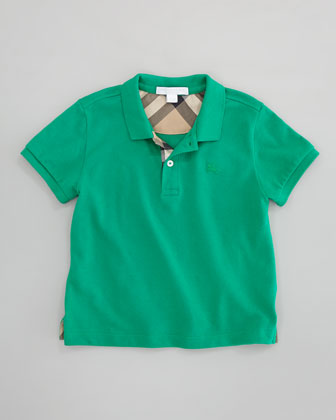 Check-Trim Polo, 4Y-10Y