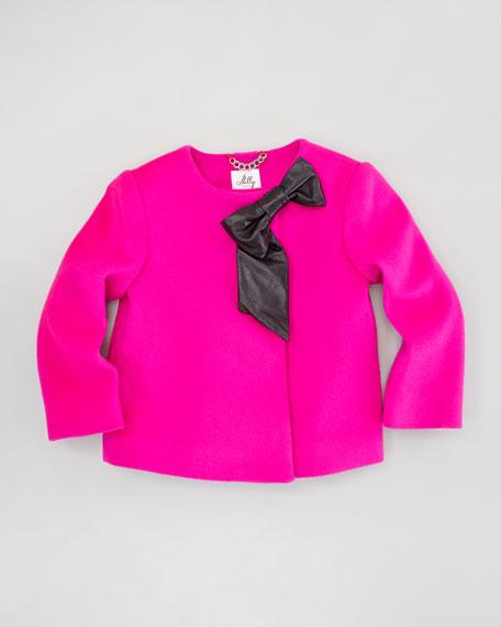 Ava Jacket, Shocking Pink, Sizes 2-6
