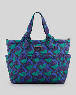 MARC by Marc Jacobs Eliz-A-Baby Pretty Nylon Bag, Jungle Green