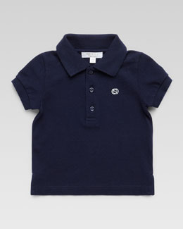Gucci Short-Sleeve Knit Polo