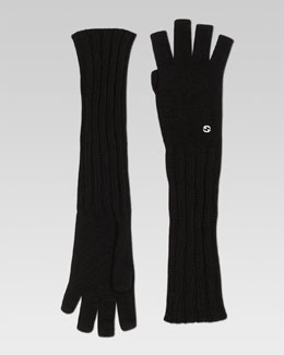 Gucci Cosky Long Fingerless Gloves