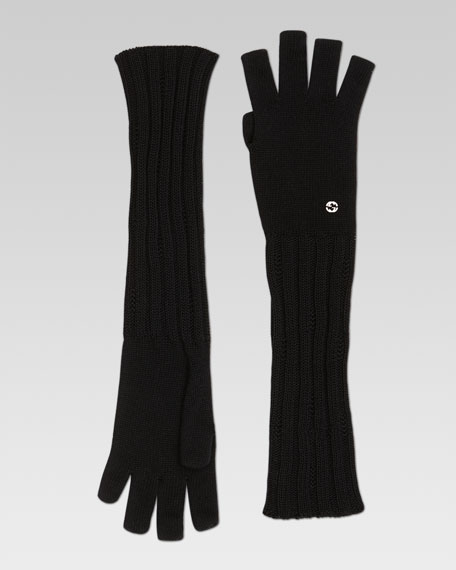 Cosky Long Fingerless Gloves