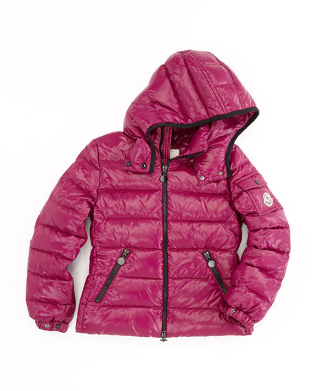 43298628a Bady Quilted Puffer Jacket Raspberry Sizes 8-10
