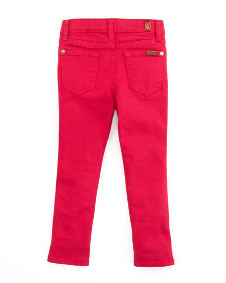 The Skinny Cerise Jeans, Pink, 2T-3T
