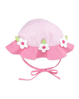 Florence Eiseman Infant Windowbox Floral Hat