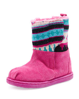 TOMS Tiny Nepal Boot, Pink