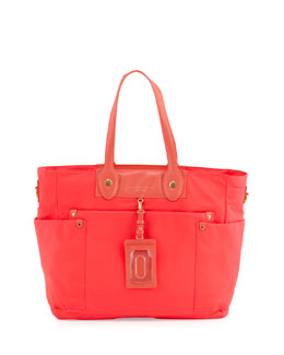 MARC by Marc Jacobs Preppy Nylon Eliz-A-Baby Diaper Bag Light