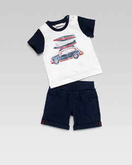 Gucci Baby Boy Two-Piece Gift Set