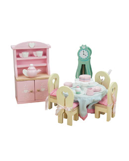 "Le Toy Van ""Daisylane"" Dining Room Dollhouse Furniture"