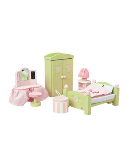 "Le Toy Van ""Daisy Lane"" Master Bedroom Dollhouse Furniture"
