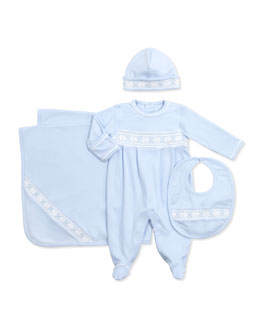 Kissy Kissy CLB Spring Shades Bib, Light Blue
