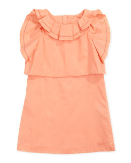 Chloe Ruffle-Detail Tiered Dress, Sizes 6-10