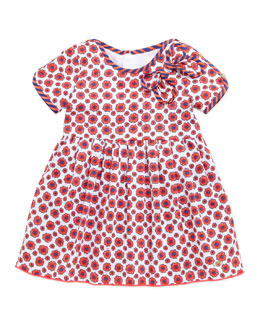 Little Marc Jacobs Floral-Print Woven Dress, 3-18 Months