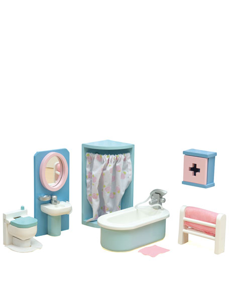 """Daisylane"" Bathroom Dollhouse Furniture"