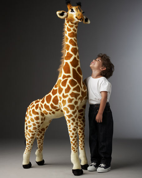Melissa Doug Tall Giraffe Plush